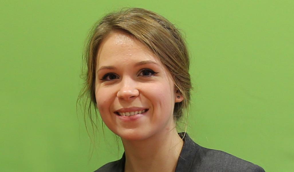Alina Egorova, Studentin im Bereich Wirtschaft und Sprachen