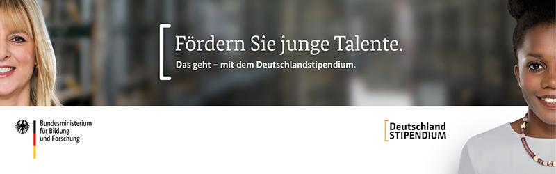 Werbebanner Deutschlandstipendium