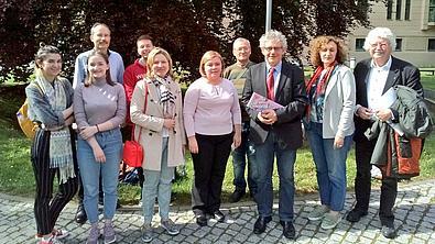 Rektortreffen in Görlitz.