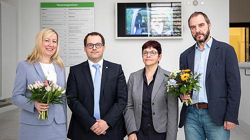 Prof. Sophia Keil, Prof. Alexander Kratzsch, Karin Hollstein, Prof. Raj Kollmorgen