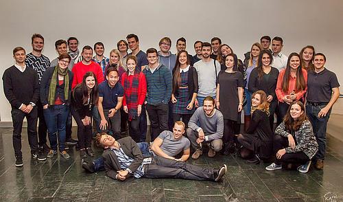 Neisse University-Studierende beim alljährlichen Treffen in Görlitz
