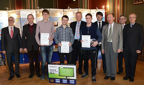 49 Schüler aus Deutschland, Polen und Tschechien verglichen ihre Kenntnisse auf dem Gebiet der Elektrotechnik