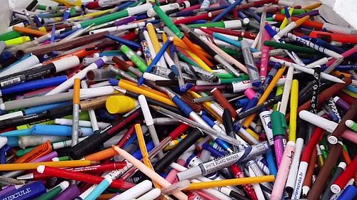 """Die studentische Umweltinitiative ruft auf zur Beteiligung an einem """"Stifte-Recyclingprogramm"""""""
