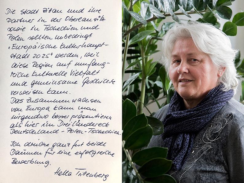 Dipl.-Ing. Hella Trillenberg, Pressesprecherin