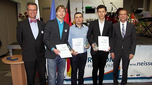 Informatikstudenten der Hochschule Zittau/Görlitz erhalten den 1. Preis der ERN im euroregionalen Wettbewerb