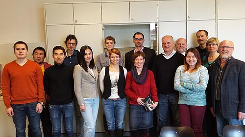 Studenten der Deutsch-Kasachischen Universität Almaty absolvierten ihr Pflichtpraktikum bei Unternehmen der Region