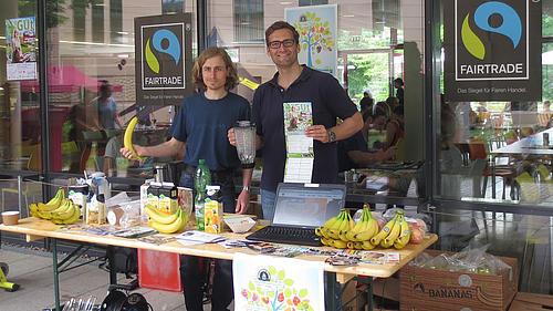 MACH MIT-Organisatoren Eric Schön und Andreas Bulcsu (v.l.n.r.) freuen sich auf die kommenden GUt-Tage im Juni