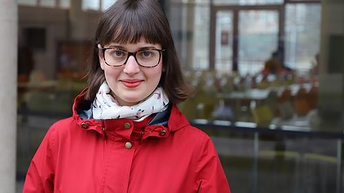Aneta Lafantová studiert in Görlitz Wirtschaft und Sprachen