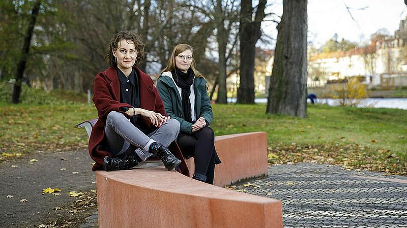 Constanze Rückert und Britta Werksnis