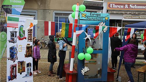 So wie in Görlitz wird es auch in Zittau einen Festakt zur Eröffnung der BücherboXX geben.