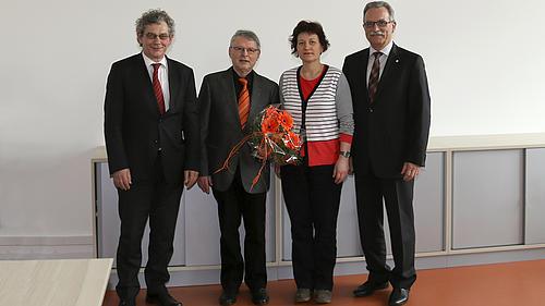 Prof. Dr.-Ing. habil. Karl-Heinz Wolf erhielt Anerkennung für seine langjährige enge Verbundenheit mit der HSZG