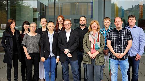 (v.l.) M. Heidig, K. Kobelt, K. Schubert, C. Matthieu, A. Bulcsu, C. M. Heidger, S. Nowack, S. Riedel, K. Kühne, D. Müssig, S. Hänseroth, J. Bienert (es fehlt: M. Herrmann)
