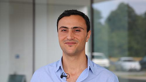Ali Al Hamad aus Syrien.