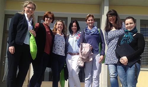 Planungstreffen für eine gemeinsame internationale ERASMUS+Staff Week im Frühjahr 2019.