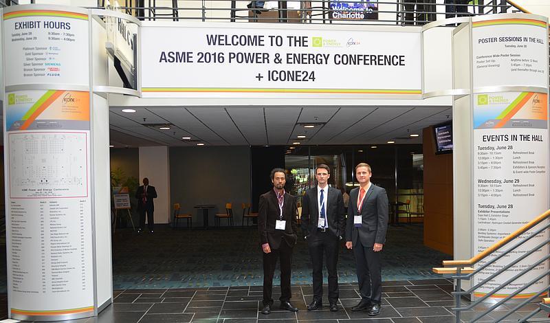 IPM präsentiert Forschungsergebnisse auf der ASME 2016 POWER & ENERGY CONFERENCE und der ICONE24