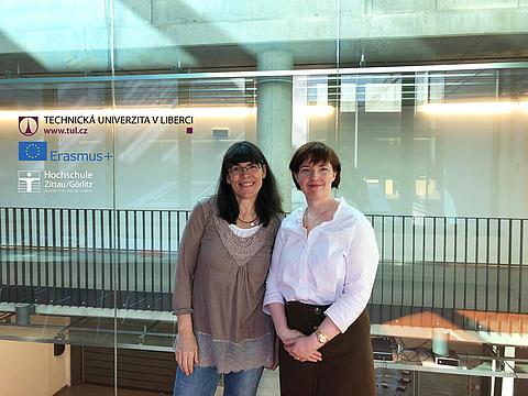 Initiatorinnen (v.l.) Stephanie Ludwig und Lucie Koutkova