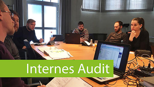 HSZG-Studierende führen interne Energieaudits für die Stadtwerke Zittau GmbH durch.