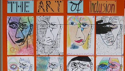 "Kunstprojekt ""The Art of Inclusion"""