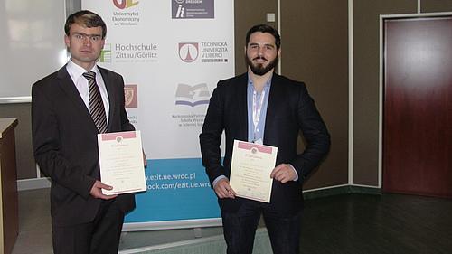1. Platz bei den Studierenden und 2. Platz bei den Doktoranden in Jelenia Gora