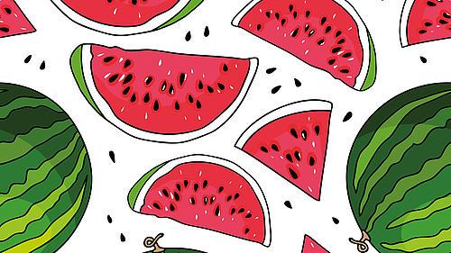 Grafische Darstellung von Melonen