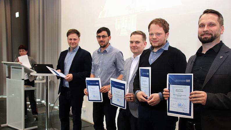 Verleihung der Zertifikate zur Ingenieurpädagogischen Weiterbildung