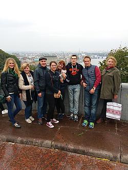 Viele neue Eindrücke in der Ukraine