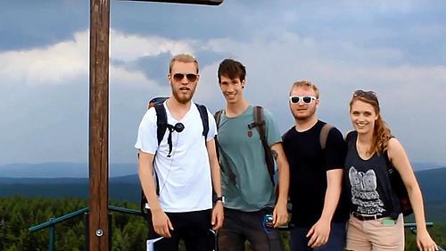Studierende der Fachrichtung Ökologie und Umweltschutz gehen auf Exkursion ins Isergebirge