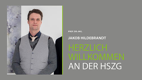 Porträt von Prof. Dr.-Ing. Jakob Hildebrandt vor neutralem Hintergrund.