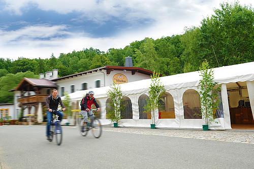 Diese Fahrradtour führt von Engemanns in Rosenthal auf dem Neißeradweg bis nach Hartau.