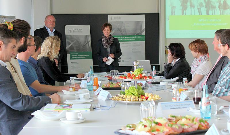 """Neue Veranstaltungsreihe an der HSZG zum Thema """"Integrierte Managementsysteme"""""""