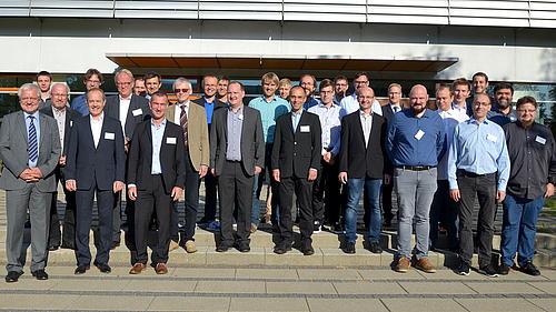 Teilnehmer am 12. Workshop Magnetlagertechnik