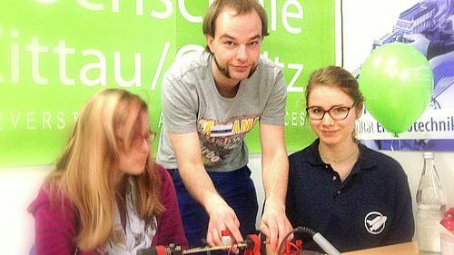 Die zahlreichen und vielfältigen Aktivitäten der HSZG begeisterten auch dieses Jahr wieder große und kleine Besucher.