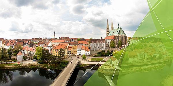 [Translate to Englisch:] Blick über die Stadt Görlitz