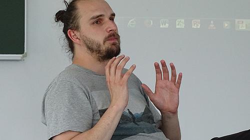 Johannes Meyer, Projektleiter beim Sächsischen Umschulungs- und Fortbildungswerk Dresden