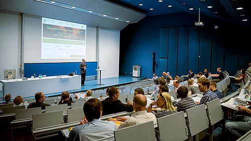 Eröffnung durch den Veranstaltungsleiter Prof. Tobias Zschunke