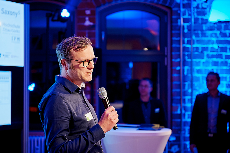 Daniel Fiß präsentierte die Simulationssoftware DynStar