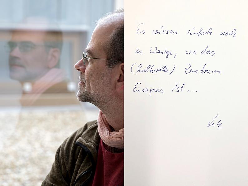 Dipl.-Biophysiker Lutz Haberland, Zentrum für Innovation u. Technologietransfer