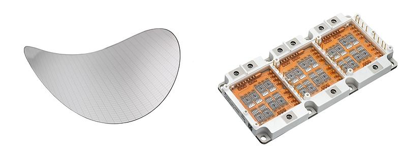 300mm-Dünnwafer und Leistungselektronik