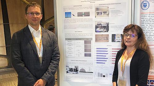 Dipl.-Ing. Heike Herzig und Prof. Stefan Kornhuber präsentierten Forschungsergebnisse auf der IEEE Konferenz in Budapest