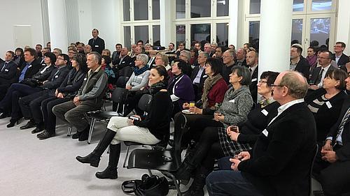 Interessierte Unternehmen der Region besuchten die HSZG am 14. Januar in Zittau