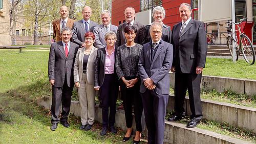Der neue Hochschulrat der HSZG fand sich zu seiner ersten Sitzung auf dem Görlitzer Campus zusammen