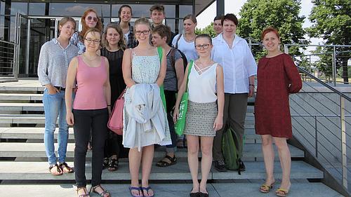 Gruppenfoto der Exkursion