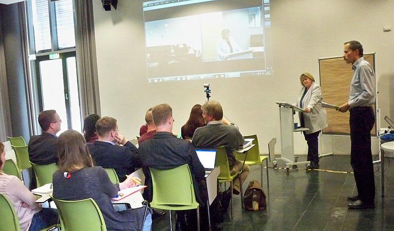 Beim diesjährigen Tag der Lehre standen Hochschulmitglieder im Dialog über Systemakkreditierung