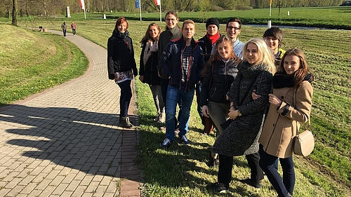 Russische und deutsche Studierende gestalten gemeinsame Studienwoche