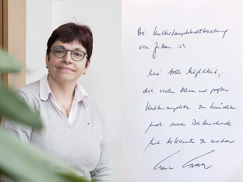 Dipl.-Jur. Karin Hollstein, Kanzlerin der Hochschule Zittau/Görlitz