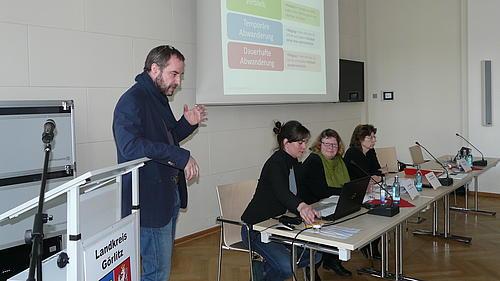 Präsentation der Ergebnisse zum Verbleib junger Menschen in der Region
