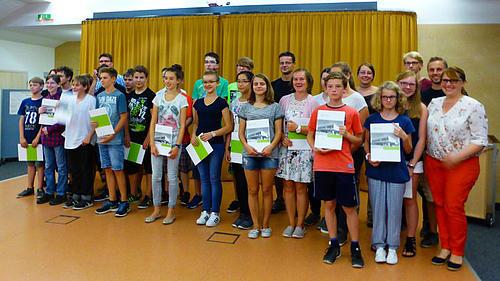 26 Schüler der Klasse 8 forschten 4 Tage an der HSZG