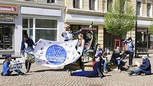 Die Zukunftsvisionen sind ein Festival für Zeitgenössische Kunst, das nun schon zum 11. Mal in Folge in Görlitz stattfindet