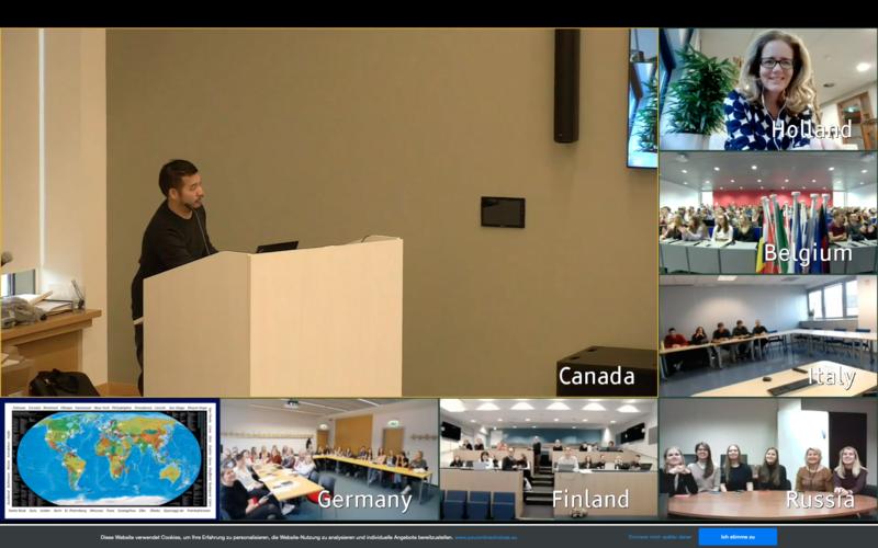 Screenshot: Die ganze Welt auf einem Bildschirm