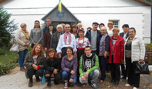 Die HSZG-Studierenden bei ihrem Besuch des Begegnungszentrums